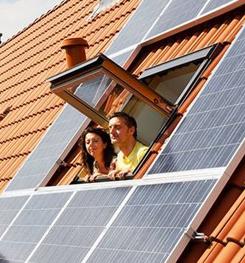 elektrische cv-ketel en zonnepanelen